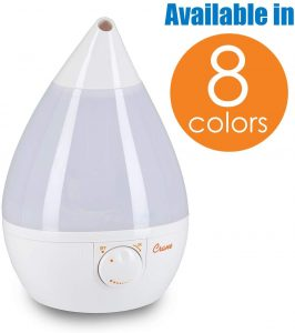 crane ultrasonic cool mist humidifier